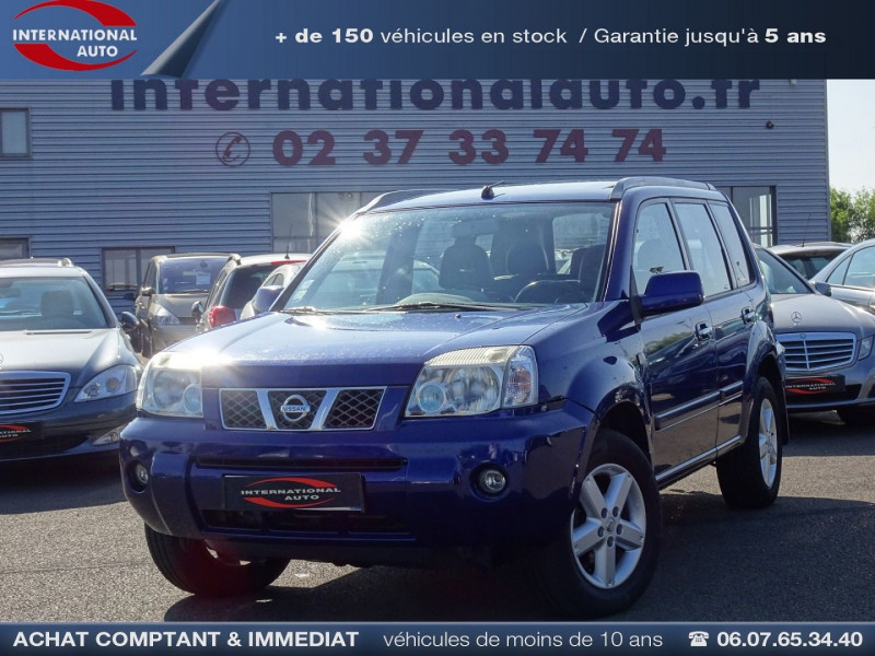 Nissan X-TRAIL 2.2 DCI 136CH PLAZA Diesel BLEU Occasion à vendre