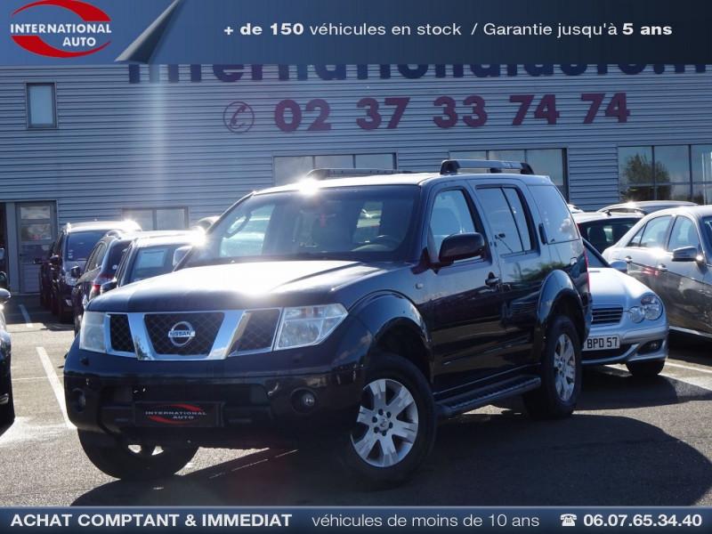 Nissan PATHFINDER 2.5 DCI 174CH ELEGANCE Diesel NOIR Occasion à vendre