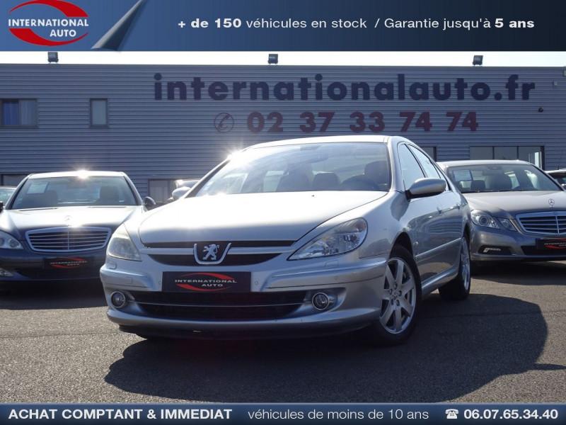 Peugeot 607 2.7 V6 HDI EXECUTIVE PACK Diesel GRIS Occasion à vendre
