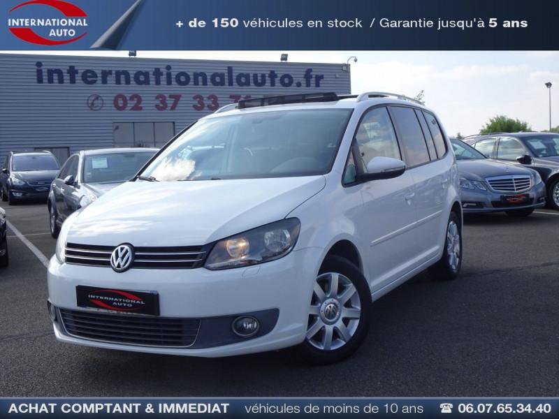 Volkswagen TOURAN 2.0 TDI 140CH CONFORTLINE 7 PLACES Diesel BLANC Occasion à vendre