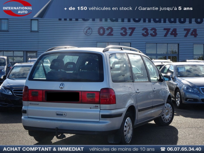Photo 2 de l'offre de VOLKSWAGEN SHARAN 1.9 TDI 115CH CONFORT à 4490€ chez International Auto Auneau