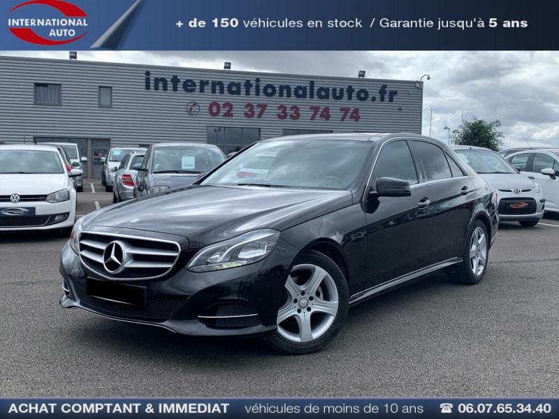 Mercedes-Benz CLASSE E (W212) 200 BLUETEC EXECUTIVE 7G-TRONIC PLUS Diesel NOIR Occasion à vendre
