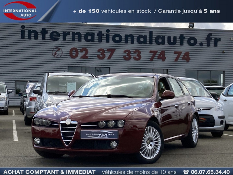 Alfa Romeo 159 SW 2.4 JTD200 20V SELECTIVE QTRONIC Diesel BORDEAU Occasion à vendre