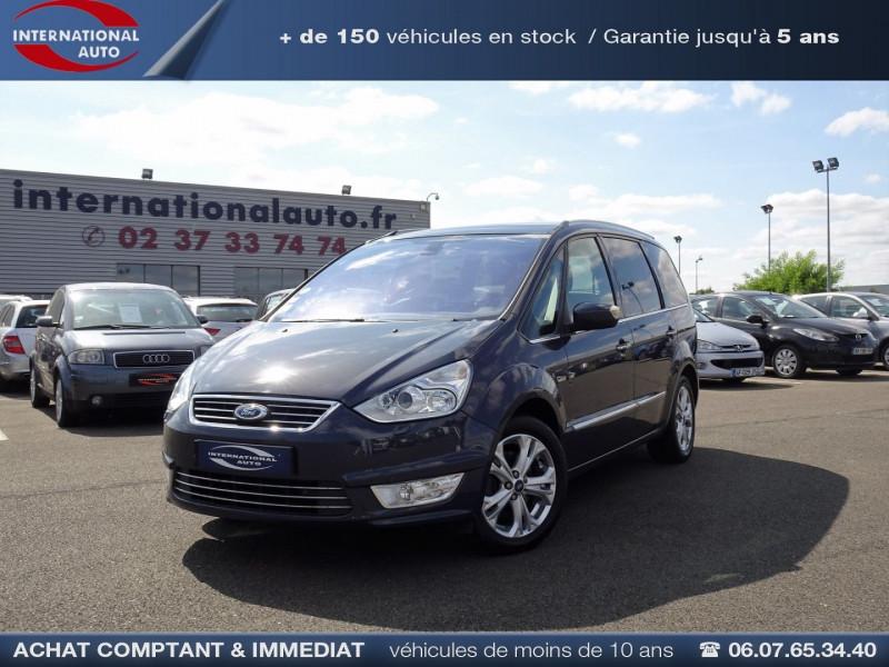 Ford GALAXY 2.2 TDCI 200CH FAP TITANIUM BVA Diesel BLEU FONCE  Occasion à vendre