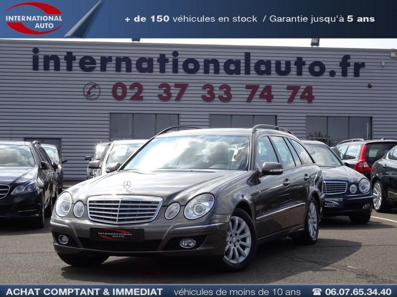 Mercedes-Benz CLASSE E BREAK (S211) 200 CDI ELEGANCE OPTIMUM BA Diesel MARRON Occasion à vendre