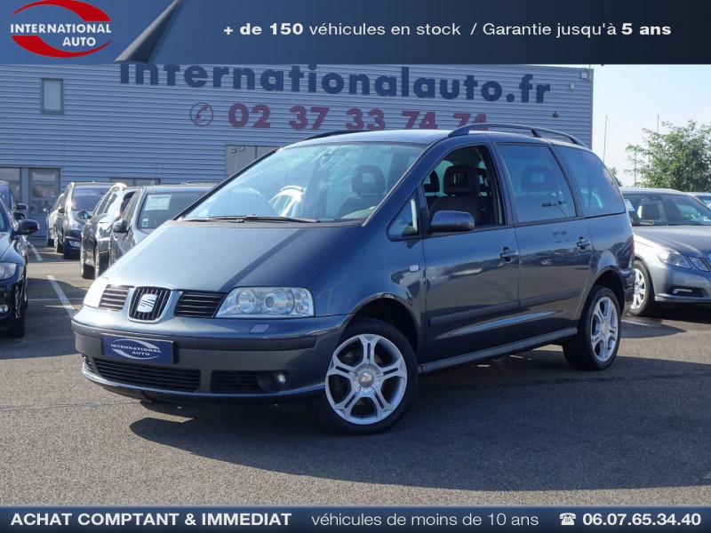 Seat ALHAMBRA 2.0 TDI140 STYLANCE Diesel GRIS FONCE  Occasion à vendre