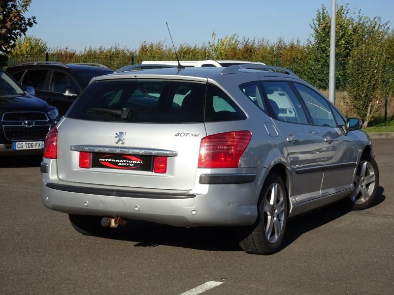 Photo 5 de l'offre de PEUGEOT 407 SW 2.0 HDI136 GRIFFE à 5890€ chez International Auto Auneau