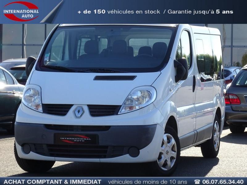 Renault TRAFIC II PASSENGER L1H1 1000 2.0 DCI 90CH AUTHENTIQUE Diesel BLANC Occasion à vendre