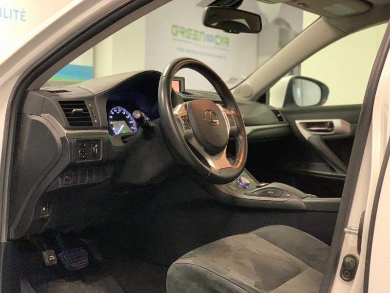 Photo 7 de l'offre de LEXUS CT 200H SENSATION à 11980€ chez Greencar France