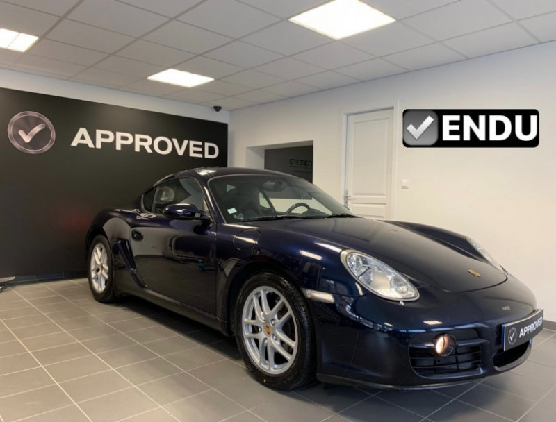 Porsche CAYMAN (987) 2.7 TIPTRONIC S Essence BLEU Occasion à vendre