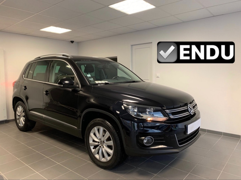 Volkswagen TIGUAN 1.4 TSI 122CH BLUEMOTION TECHNOLOGY SPORTLINE Essence NOIR Occasion à vendre