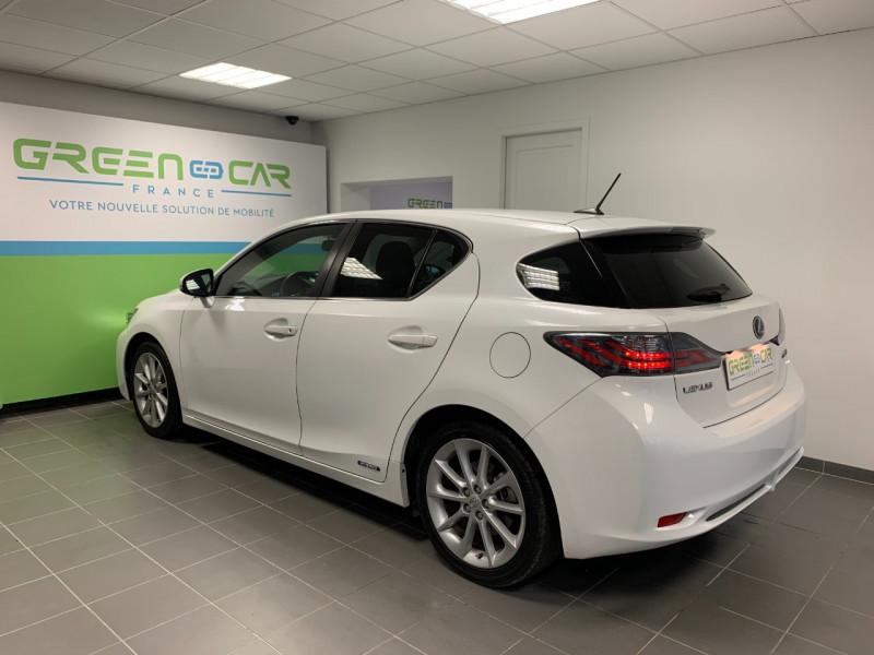 Photo 3 de l'offre de LEXUS CT 200H SENSATION à 11980€ chez Greencar France