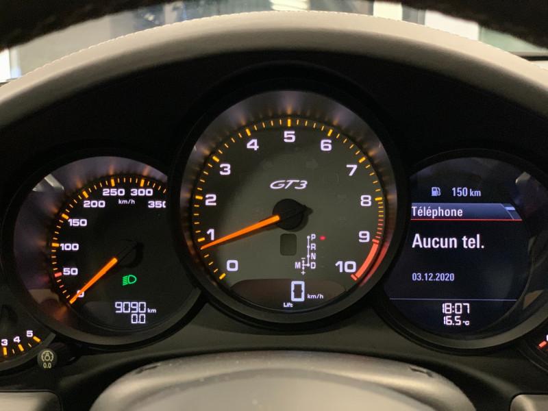 Photo 21 de l'offre de PORSCHE 911 COUPE (991) 4.0 500CH GT3 PDK à 149900€ chez Greencar France