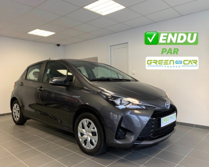 Toyota YARIS 100H FRANCE 5P Hybride ANTHRACITE Occasion à vendre