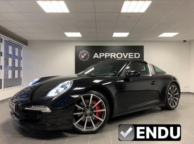 Porsche 911 TARGA (991) TARGA 4S PDK Essence NOIR Occasion à vendre