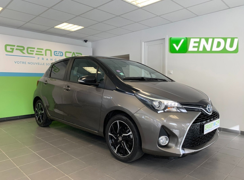 Toyota YARIS HSD 100H COLLECTION 5P Hybride BEIGE METALLISE Occasion à vendre