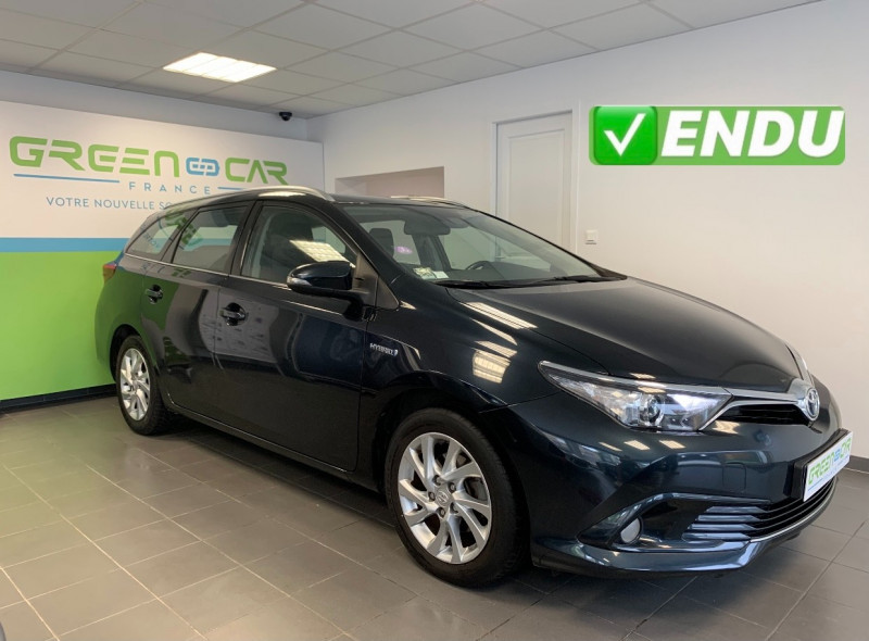 Toyota AURIS TOURING SPORTS HSD 136H DYNAMIC BUSINESS Hybride ANTHRACITE Occasion à vendre