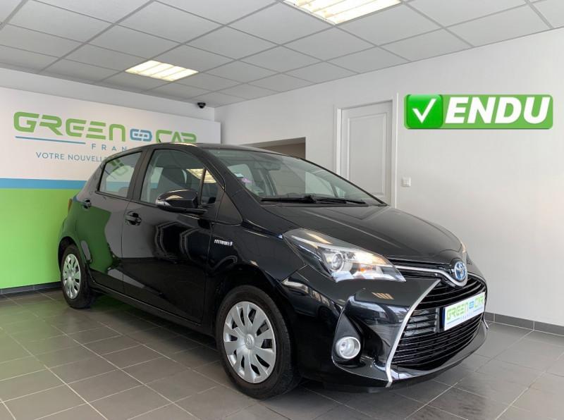 Toyota YARIS HSD 100H BUSINESS 5P Hybride NOIR Occasion à vendre