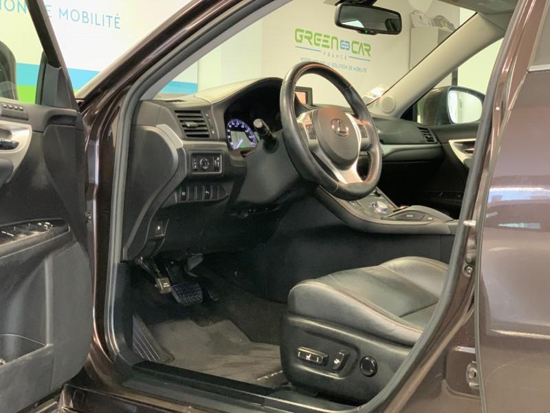 Photo 8 de l'offre de LEXUS CT 200H PASSION à 13480€ chez Greencar France