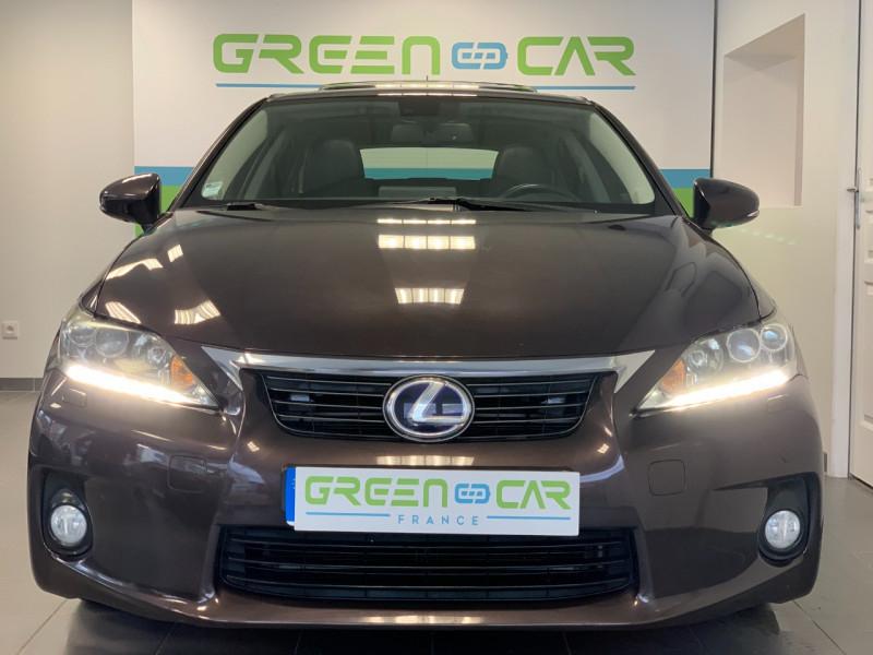 Photo 4 de l'offre de LEXUS CT 200H PASSION à 13480€ chez Greencar France