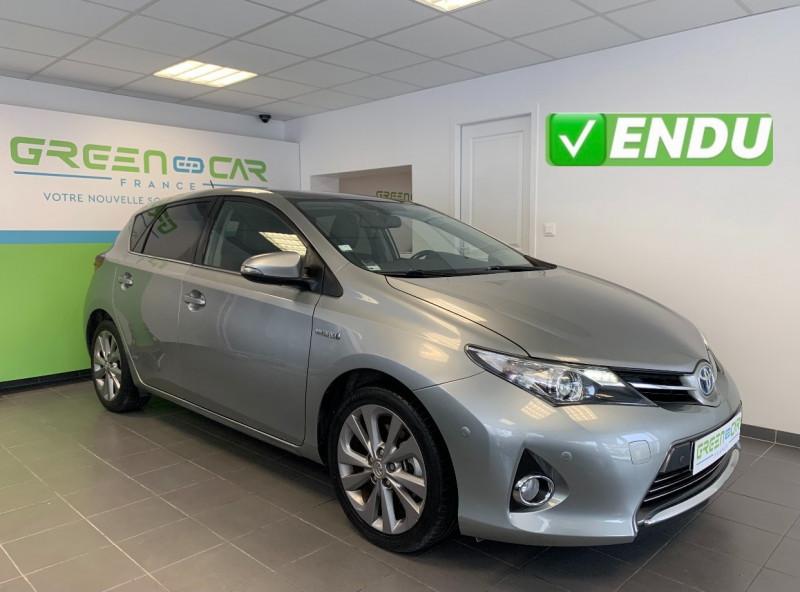 Toyota AURIS HSD 136H STYLE Hybride GRIS Occasion à vendre