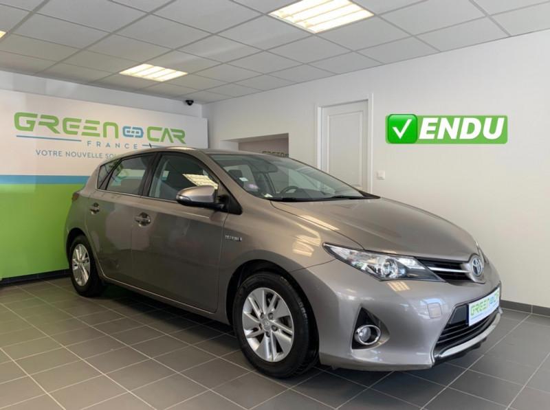 Toyota AURIS HSD 136H DYNAMIC Hybride BEIGE Occasion à vendre