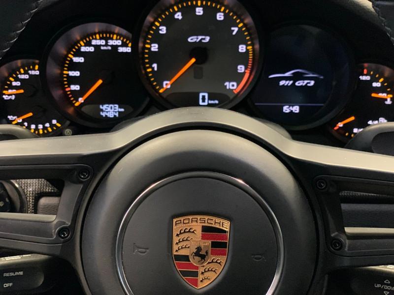 Photo 21 de l'offre de PORSCHE 911 COUPE (991) 4.0 500CH GT3 à 157980€ chez Greencar France