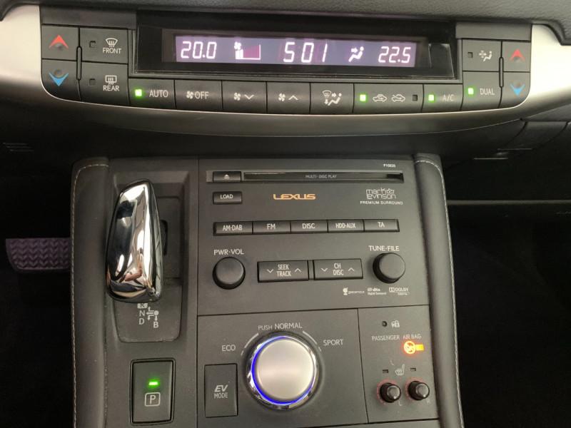 Photo 14 de l'offre de LEXUS CT 200H PASSION à 12780€ chez Greencar France