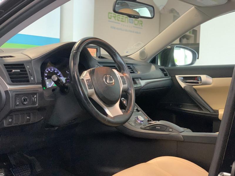 Photo 10 de l'offre de LEXUS CT 200H PASSION à 12780€ chez Greencar France