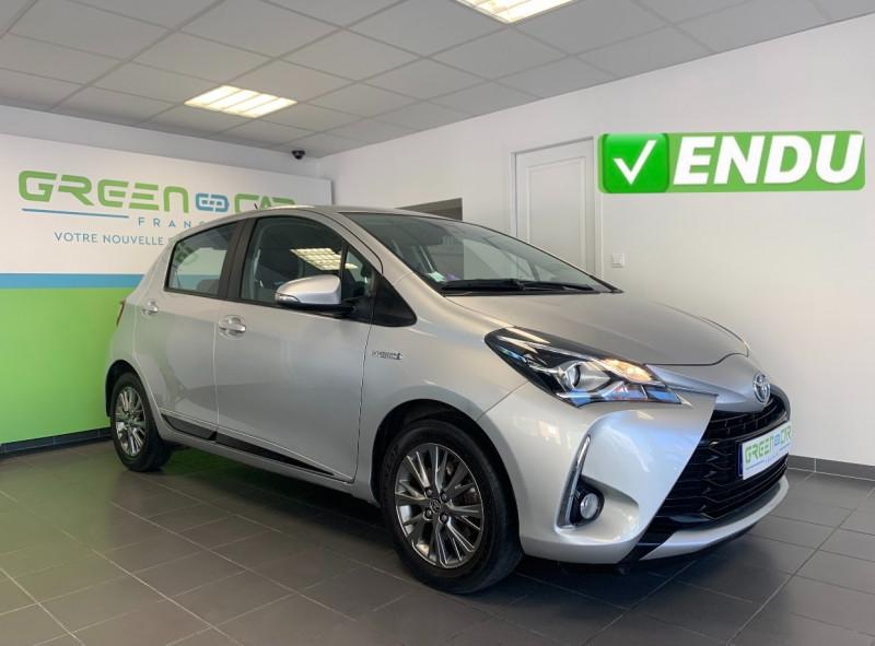 Toyota YARIS 100H DYNAMIC 5P Hybride GRIS Occasion à vendre