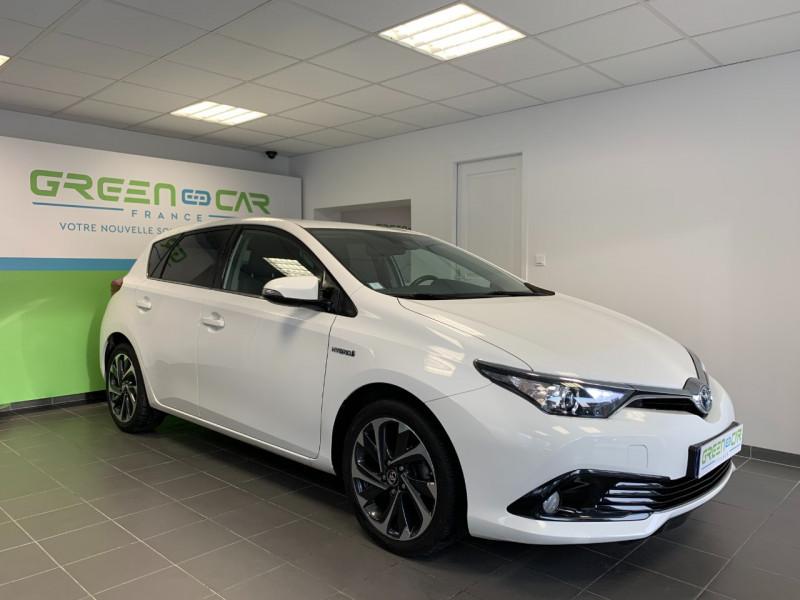 Photo 2 de l'offre de TOYOTA AURIS HSD 136H DESIGN BUSINESS à 12480€ chez Greencar France