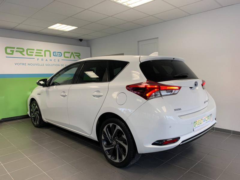 Photo 3 de l'offre de TOYOTA AURIS HSD 136H DESIGN BUSINESS à 12480€ chez Greencar France