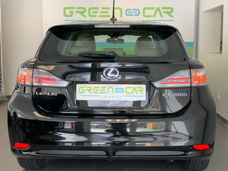 Photo 5 de l'offre de LEXUS CT 200H EMOTION à 11880€ chez Greencar France