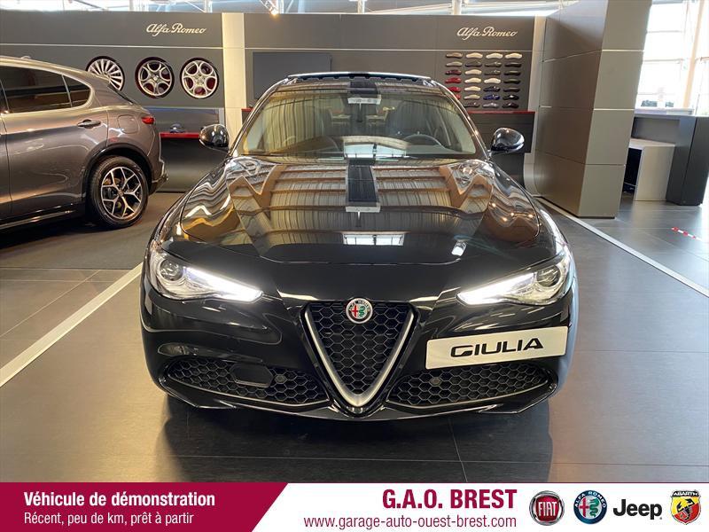 Photo 4 de l'offre de ALFA ROMEO Giulia 2.2 JTD 190ch Executive AT8 MY19 à 38990€ chez Garage Auto de l'Ouest - Brest
