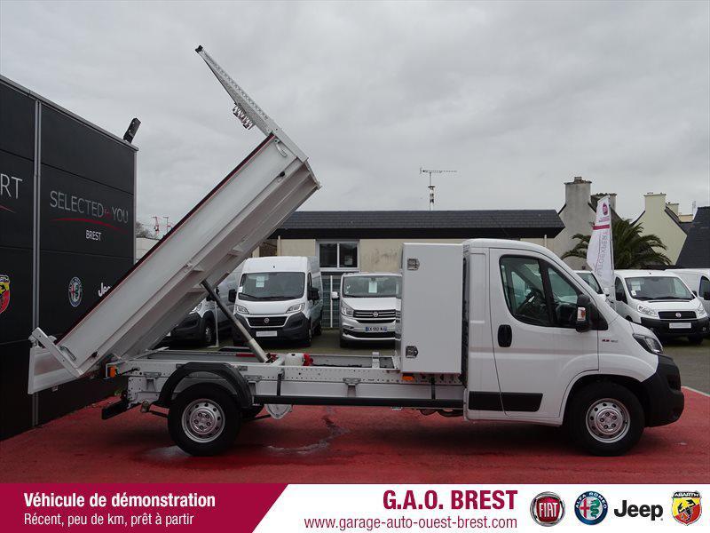Photo 3 de l'offre de FIAT Ducato Benne 3.5 Maxi L 2.3 Multijet 160ch Aluminium Pro Lounge + Coffre à 29990€ chez Garage Auto de l'Ouest - Brest