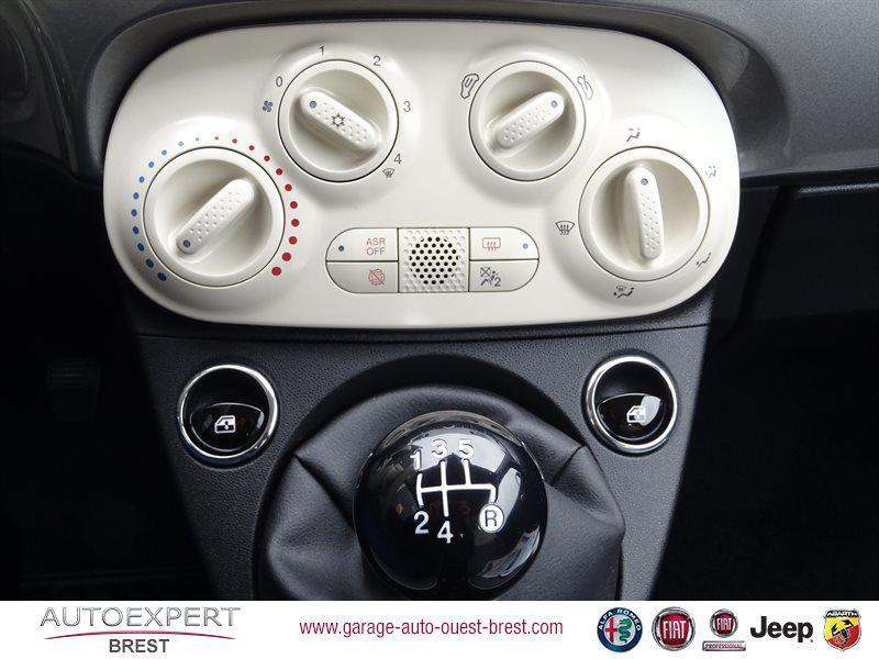 Photo 13 de l'offre de FIAT 500C 1.2 8v 69ch Eco Pack Lounge Euro6d à 13490€ chez Garage Auto de l'Ouest - Brest
