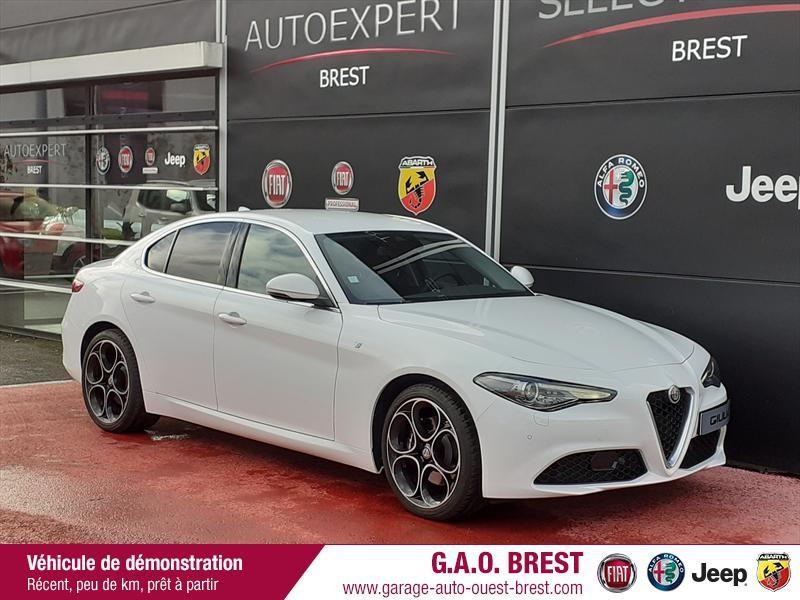 Alfa Romeo Giulia 2.2 JTD 190ch Ti AT8 MY20 Diesel Blanc Alfa Occasion à vendre