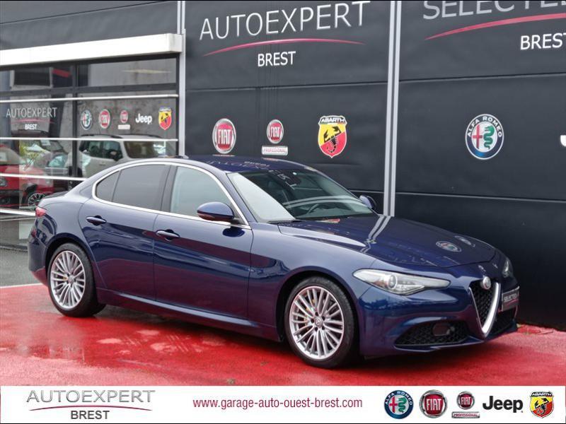Alfa Romeo Giulia 2.2 JTD 180ch Lusso Diesel Bleu Montecarlo Occasion à vendre