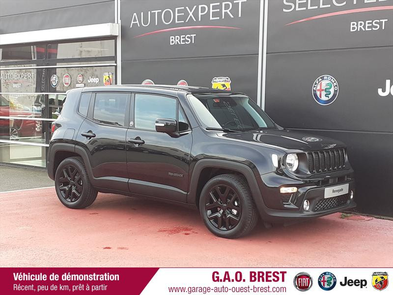 Jeep Renegade 1.6 MultiJet 120ch Brooklyn Edition MY20 Diesel Carbon Black Occasion à vendre