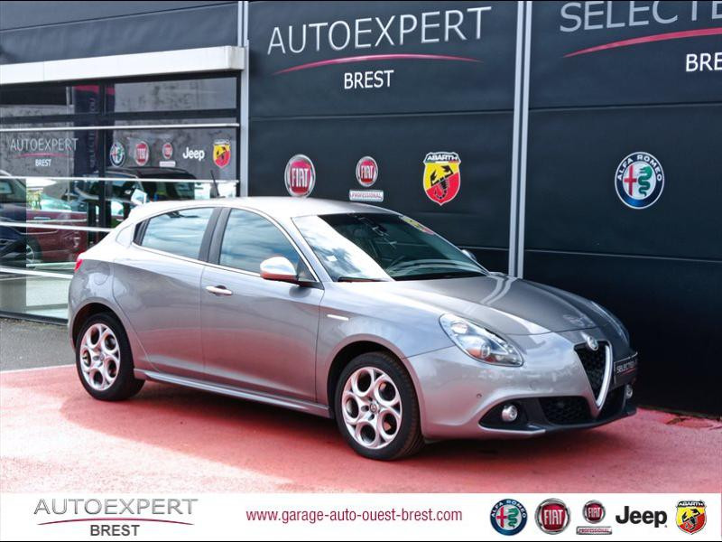 Alfa Romeo Giulietta 1.6 JTDm 120ch Lusso Stop&Start Diesel Gris Stromboli Occasion à vendre