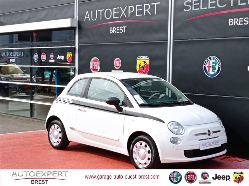 Fiat 500 1.2 8v 69ch Pop Essence Coloris Pastel Bossa Nova White Occasion à vendre