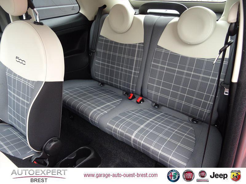 Photo 16 de l'offre de FIAT 500C 1.2 8v 69ch Eco Pack Lounge Euro6d à 13490€ chez Garage Auto de l'Ouest - Brest