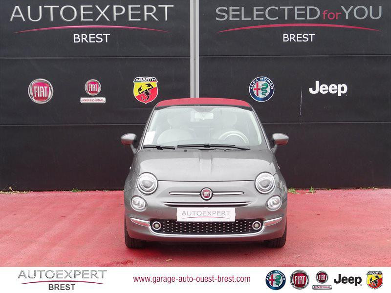 Photo 8 de l'offre de FIAT 500C 1.2 8v 69ch Eco Pack Lounge Euro6d à 13490€ chez Garage Auto de l'Ouest - Brest