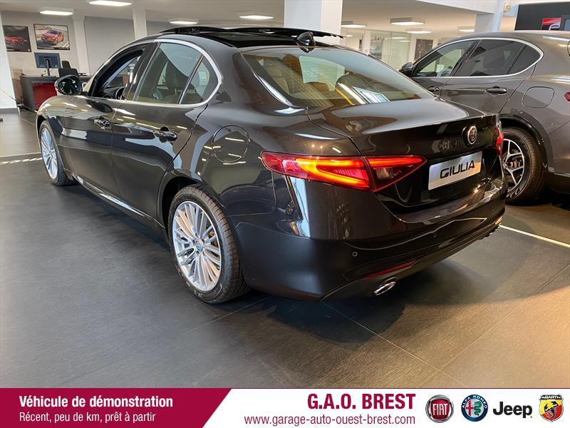 Photo 2 de l'offre de ALFA ROMEO Giulia 2.2 JTD 190ch Executive AT8 MY19 à 38990€ chez Garage Auto de l'Ouest - Brest