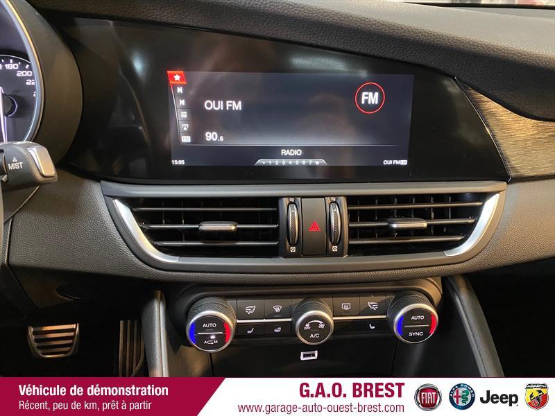 Photo 16 de l'offre de ALFA ROMEO Giulia 2.2 JTD 190ch Executive AT8 MY19 à 38990€ chez Garage Auto de l'Ouest - Brest