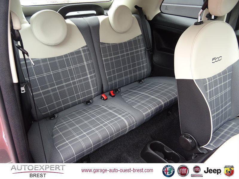 Photo 17 de l'offre de FIAT 500C 1.2 8v 69ch Eco Pack Lounge Euro6d à 13490€ chez Garage Auto de l'Ouest - Brest