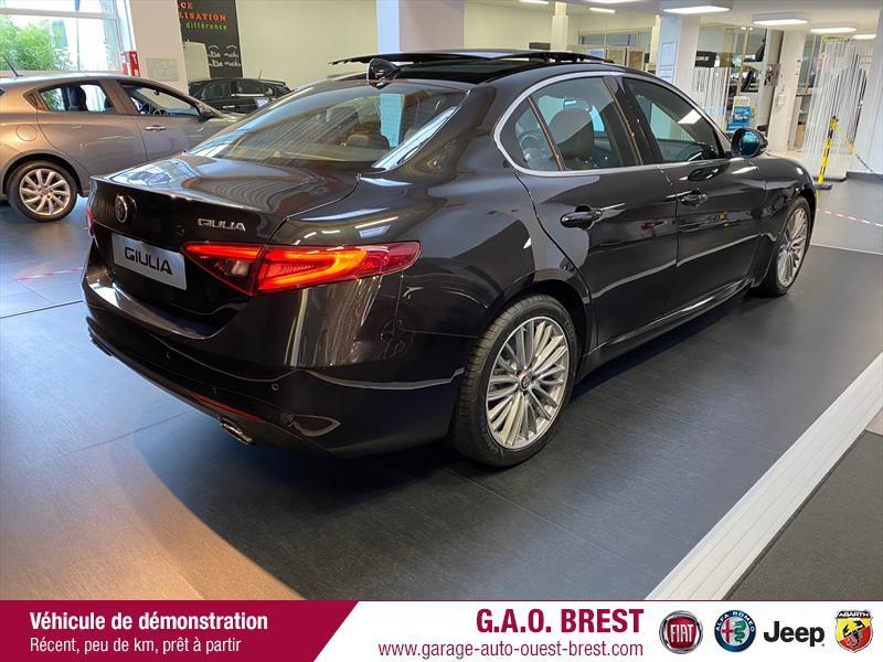 Photo 9 de l'offre de ALFA ROMEO Giulia 2.2 JTD 190ch Executive AT8 MY19 à 38990€ chez Garage Auto de l'Ouest - Brest
