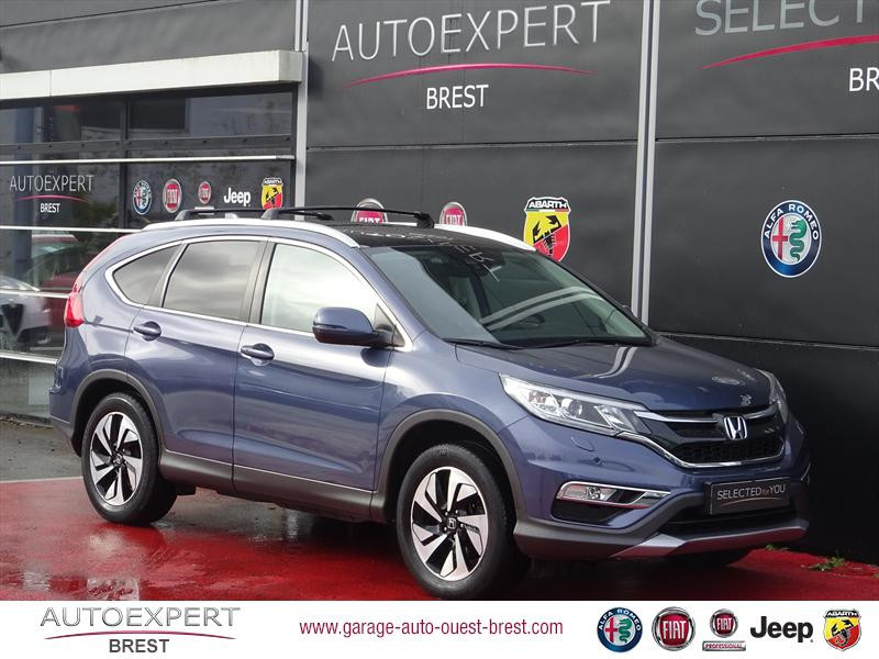 Honda CR-V 1.6 i-DTEC 160ch Executive Navi 4WD Diesel Bleu Twilight Occasion à vendre