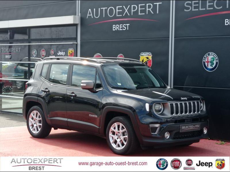 Jeep Renegade 1.0 GSE T3 120ch Limited Essence Carbon Black Occasion à vendre