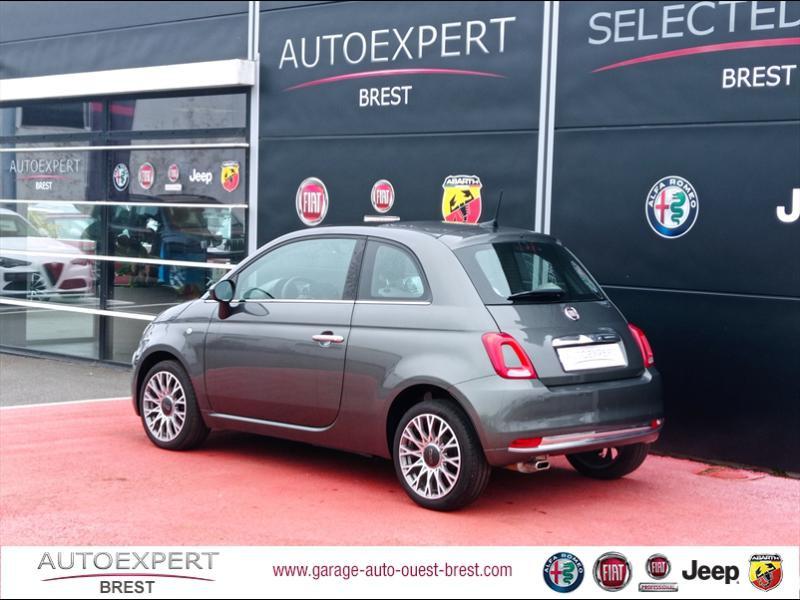 Photo 4 de l'offre de FIAT 500 1.2 8v 69ch Eco Pack Star à 11390€ chez Garage Auto de l'Ouest - Brest
